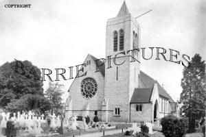 Moordown, St Johns Church c1935