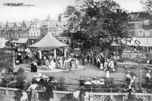 Boscombe, Gardens c1900