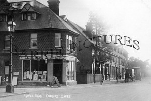 Canford Cliffs, Haven Road c1910