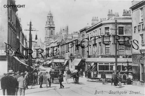 Bath, Southgate Street c1920