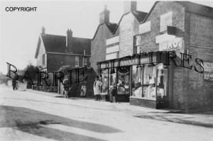 Berrow, Village Shop c1910