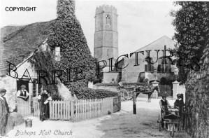 Bishops Hull, Church c1900
