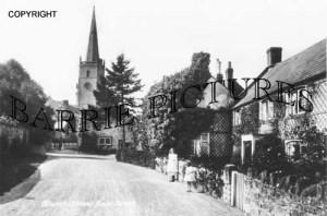 East Brent, Church Street c1900