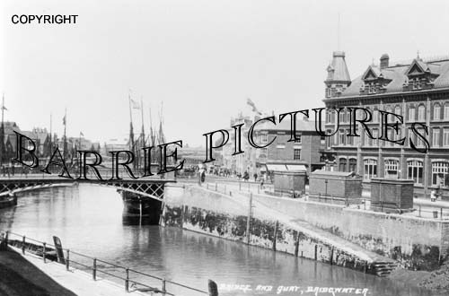 Bridgwater, The Bridge and Quay c1900