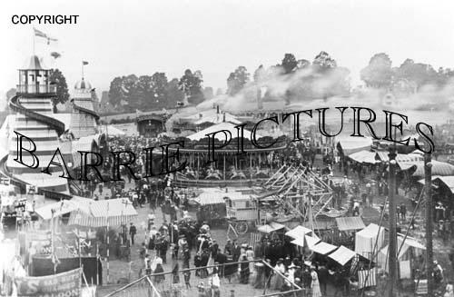 Bridgwater, The Fair c1915