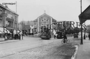 Bristol, Eastville Tram Junction c1920