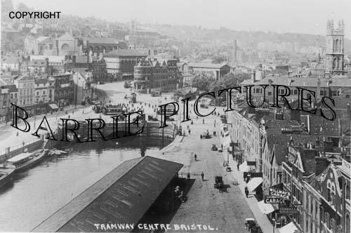 Bristol, Tramway Centre c1920