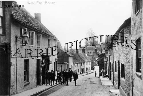 Bruton, Village c1900