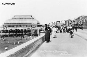 Burnham, The Pavilion and Promenade c1910