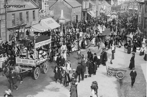 Chard, Hospital Carnival 1912