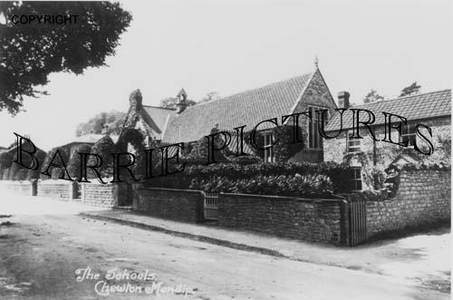 Chewton Mendip, The Schools c1910