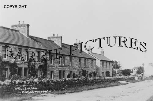 Chilcompton, Wells Road c1910