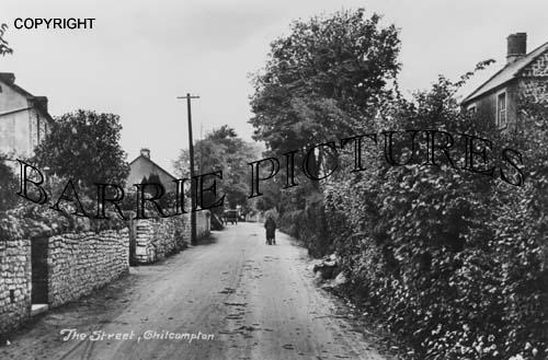 Chilcompton, The Street c1920