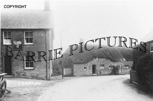 Clapton, Village c1910