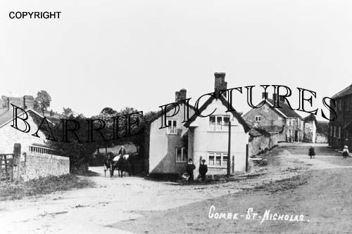 Combe St Nicholas, Village c1910