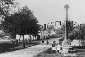 Crowcombe, The Cross c1910