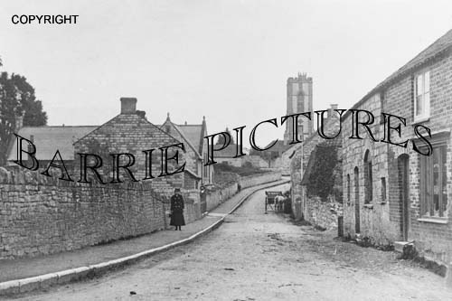 Curry Rivel, Village and Church c1910