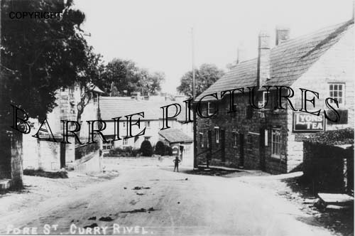 Curry Rivel, Fore Street c1910
