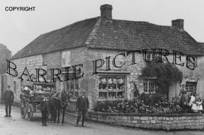 Curry Rivel, Village Store c1910