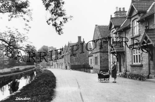 Dinder, Village c1910