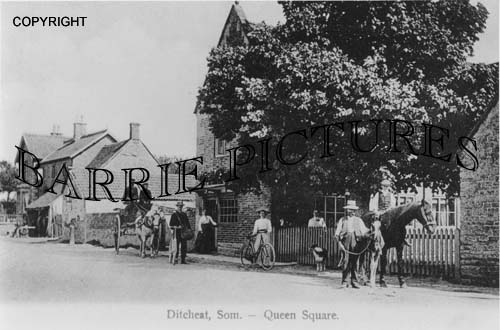 Ditcheat, Church c1910