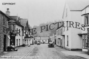 Dulverton, High Street c1920