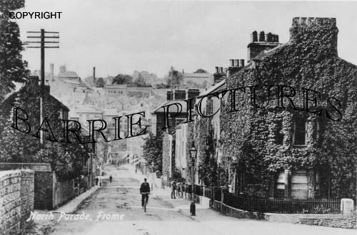 Frome, North Parade c1910