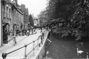 Frome, Willow Vale/River Frome c1910