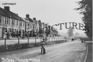 Frome, Portway towards the Station c1910