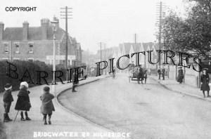 Highbridge, Bridgewater Road c1905