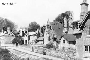 Hinton Charterhouse, The School c1910