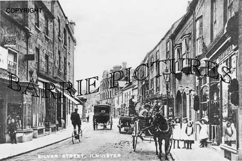 Ilminster, Silver Street c1900