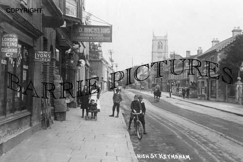 Keynsham, High Street c1910
