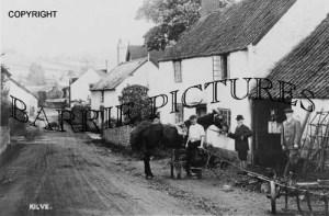 Kilve, Village Smithy c1900