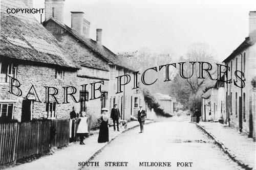 Milborne Port, South Street c1900