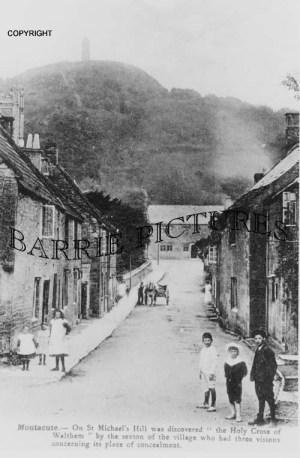 Montacute, Village c1900