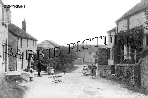 Moorlynch, Post Office c1900