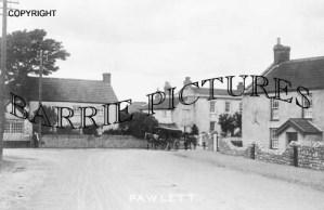 Pawlett, Village c1900