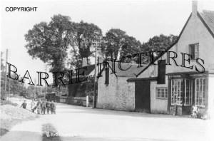 Pawlett, Bridgwater Road c1900