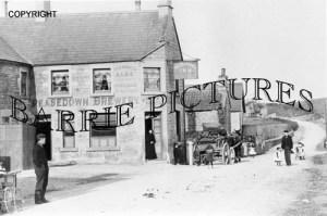 Peasedown, Wagon and Horses Inn c1900