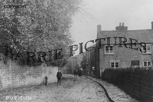 Puriton, Village c1900