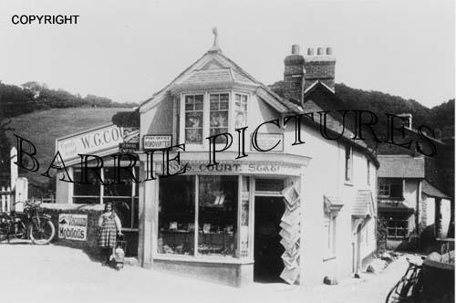 Roadwater, Post Office c1910