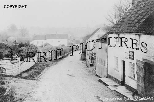 Stoke St Gregory, Post Office c1910