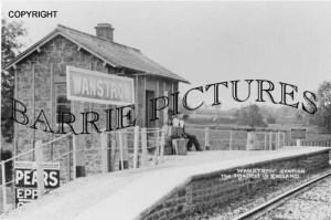 Wanstrow, Smallest Station in England c1900