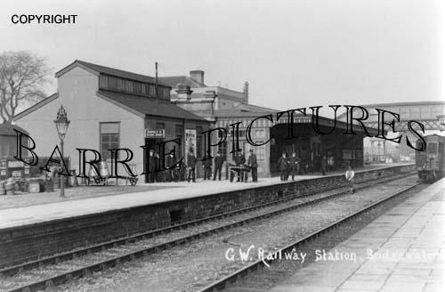Bridgwater, G.W.Railway Station c1900
