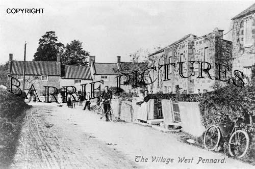 West Pennard, The Village c1900