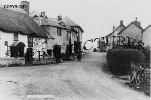 Wheddon Cross, Village c1920