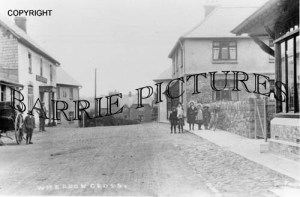 Wheddon Cross, Village c1910