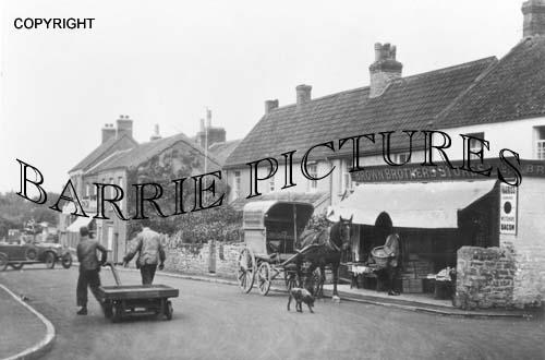 Winscombe, Village Stores c1910