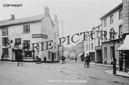 Wiveliscombe, North Street c1910